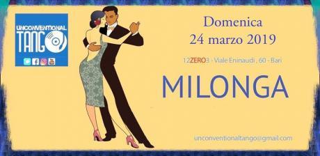 Domenica 24 marzo: Unconventional Tango al 12.03