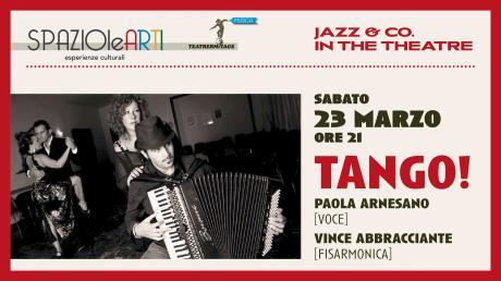 TANGO ! Paola Arnesano & Vince Abbracciante