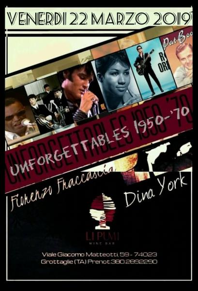 The Unforgettables 1950-1970