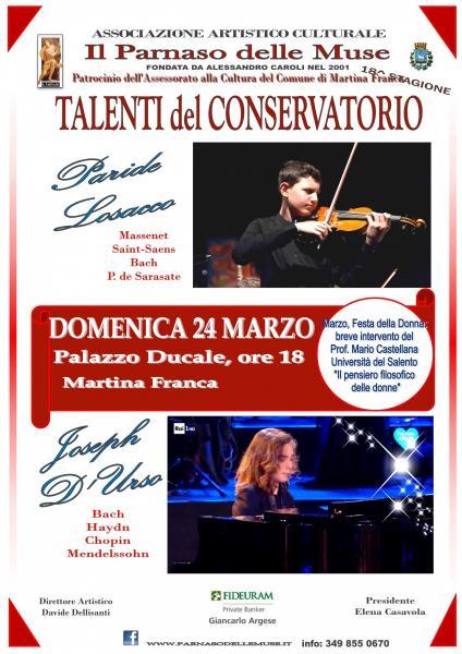 Concerto: Violino e Pianoforte