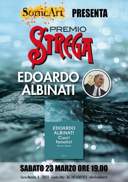 Incontro con il Premio Strega Edoardo Albinati