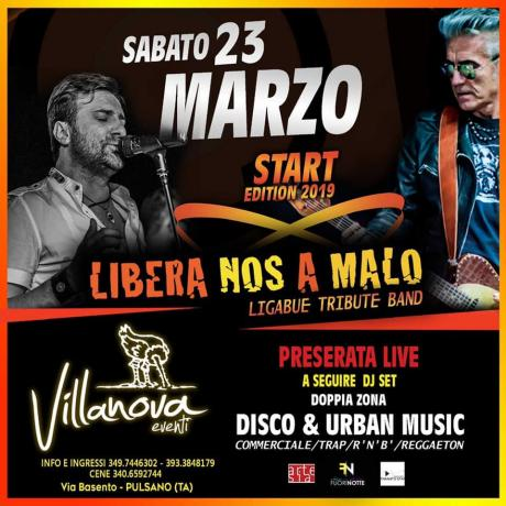 Libera Nos a Malo, tributo a Ligabue + Double Zone Dj Set