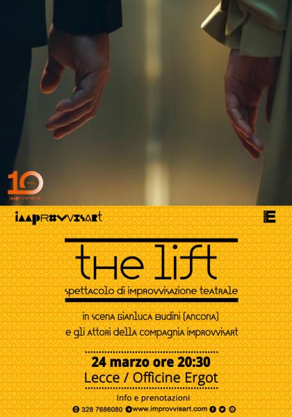 The Lift, spettacolo di Improvvisazione Teatrale a Lecce