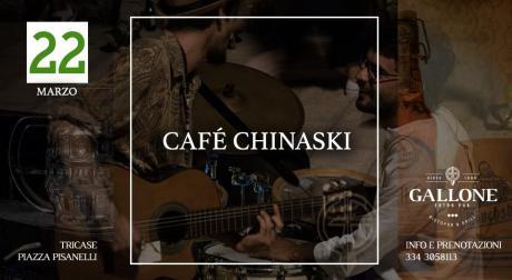Café Chinaski LIVE :: 22 Marzo 2019 - Gallone (Tricase)