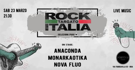 Rock Targato Italia 31° edizione - Selezioni Regionali Puglia