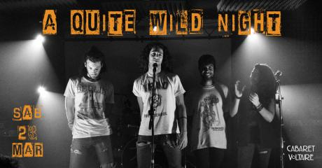 A quite wild night - live -