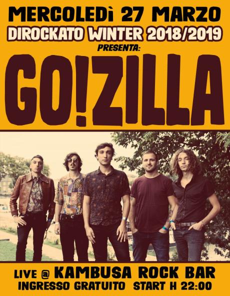 Go!Zilla live at Dirockato Winter 2018/2019 | Kambusa Rock Bar