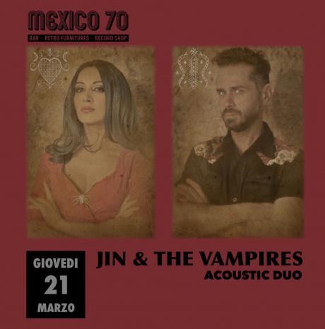 JIN & THE VAMPIRES Acoustic Duo