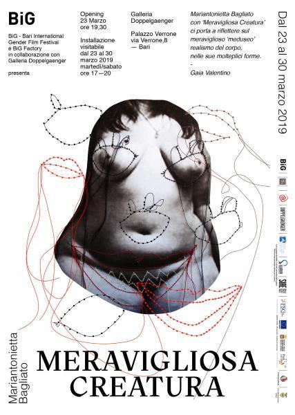 MERAVIGLIOSA CREATURA installazione artistica di Mariantonietta Bagliato