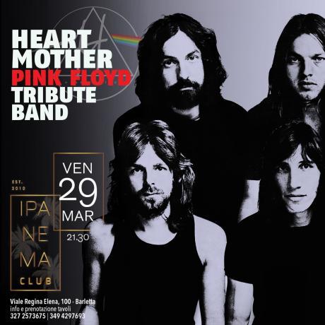 Heart Mother Pink Floyd Tribute Band a Barletta!