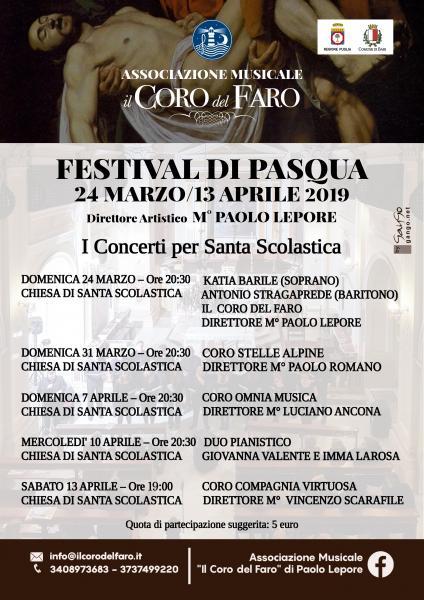 Festival Di Pasqua 2019 - I Concerti di Santa Scolastica