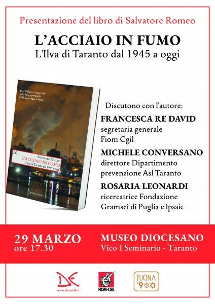 L'acciaio in fumo - Presentazione a Taranto