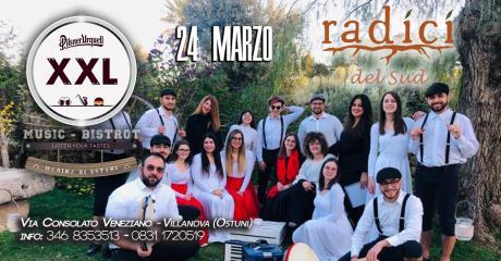 Pizzica & Taranta all'XXL Music Bistrot (Villanova)
