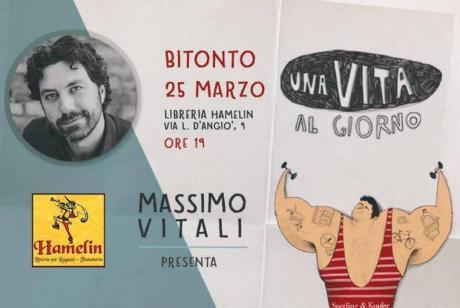"""Massimo Vitali presenta """"Una vita al giorno"""""""