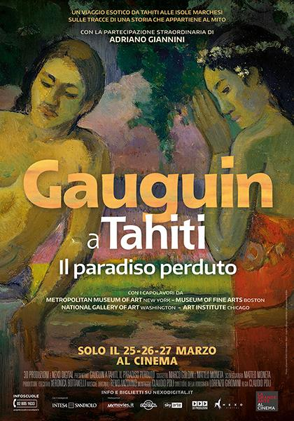 GAUGUIN A TAHITI. IL PARADISO PERDUTO in esclusiva nei VIGNOLA CINEMAS