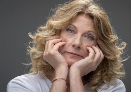 Angela Finocchiaro sul palco di Taranto