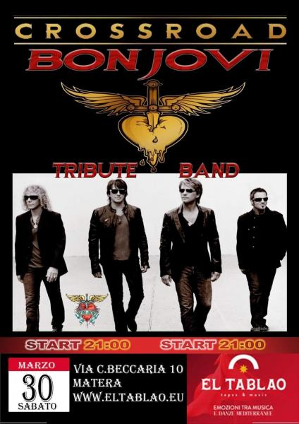 Crossroad Bon Jovi tribute band live