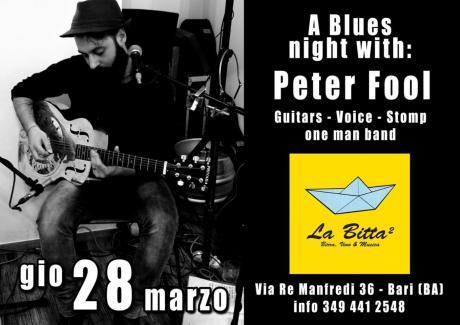 Il folle e il blues - Peter Fool live -