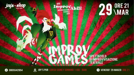 ImprovGames - spettacolo di improvvisazione teatrale