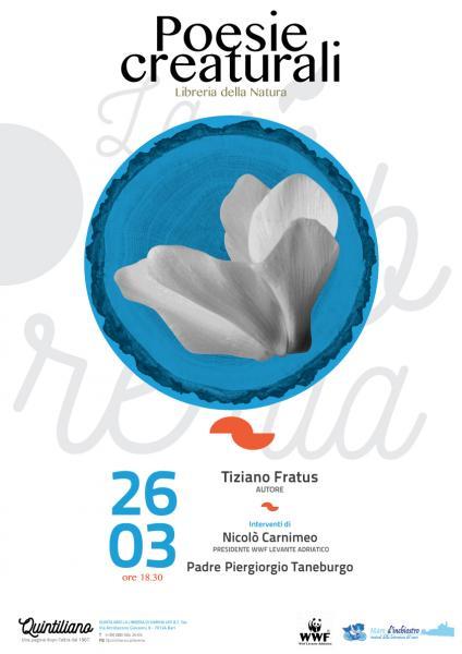 Incontro con Tiziano Fratus