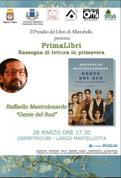 PRIMALIBRI  RASSEGNA DI LETTURA - RAFFAELLO MASTROLONARDO