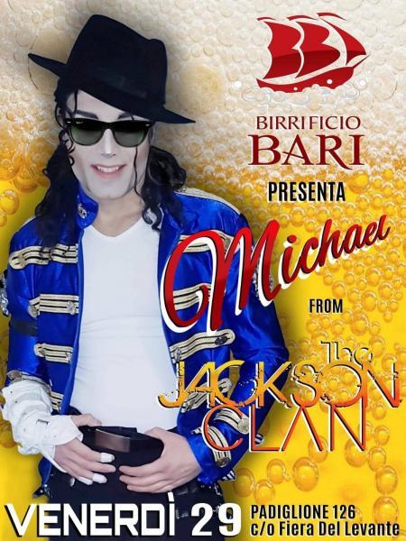 Michael from The Jackson Clan - Live @ Birrificio Bari