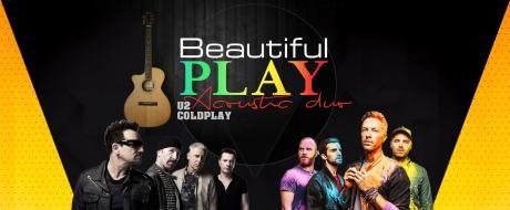 Beautiful Play U2 & Coldplay Semi-Acoustic Duo