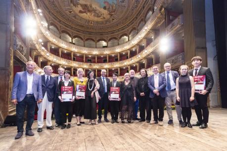 """PRESENTAZIONE DEI CONCORSI MUSICALI INTERNAZIONALI """"CITTA' DI BARLETTA"""" E """"PREMIO MAURO PAOLO MONOPOLI""""ORGANIZZATI DALL'ASSOCIAZIONE CULTURA E MUSICA   """"G.CURCI """" DI BARLETTA"""