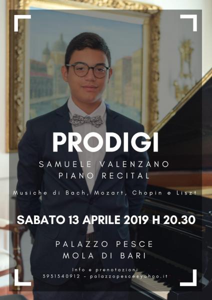Prodigi [Samuele Valenzano Piano Recital]