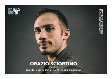 Orazio Sciortino, Pianoforte