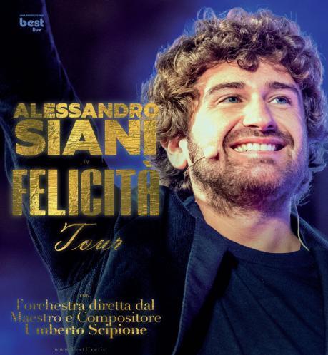 """Alessandro Siani in """"Felicità tour"""""""