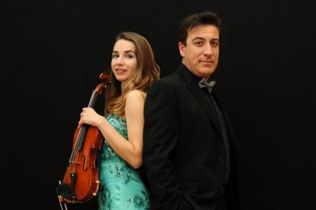 NAYDENOVA & TROTTA violin and piano duo