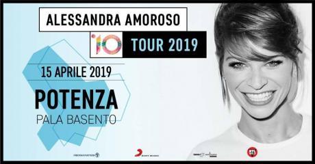 Alessandra Amoroso in concerto a Potenza