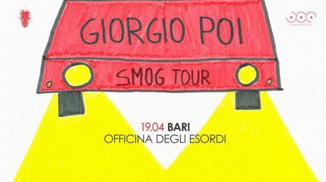 Giorgio Poi in concerto // Officina Degli Esordi // Bari