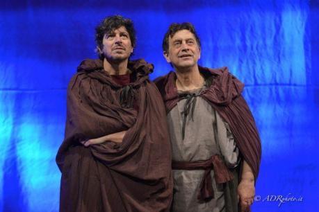 """Michele La Ginestra e Massimo Wertmüller in """"Come Cristo Comanda"""""""