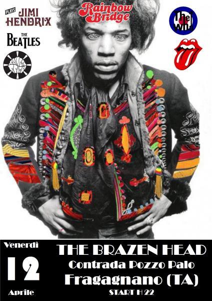 Rainbow Bridge in concerto - Jimi Hendrix tribute & Psychedelic Sixties