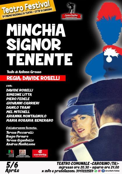 MINCHIA SIGNOR TENENTE