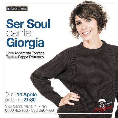 Ser Soul canta Giorgia a Trani