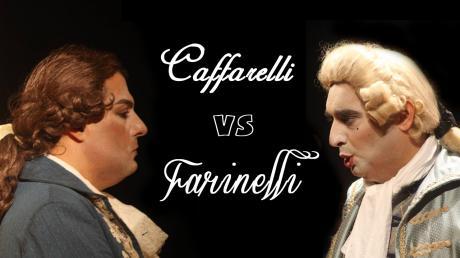"""CAFFARELLI vs FARINELLI - Duello tra """"evirati cantori"""""""