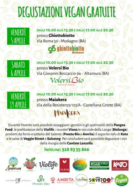 Maiakera e Amorum: Degustazione vegan gratuita