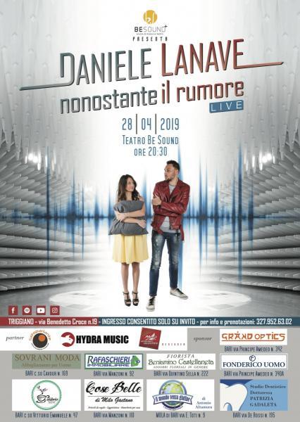 Daniele Lanave - Nonostante il rumore LIVE