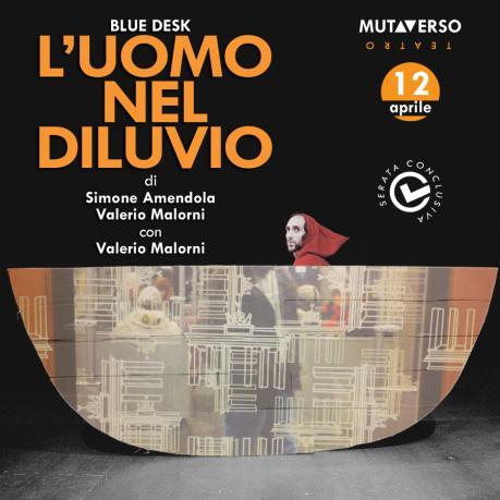 """Serata conclusiva per Mutaverso Teatro: in scena """"L'uomo nel diluvio"""" al Centro Sociale di Salerno"""