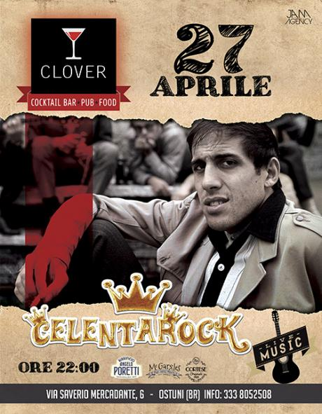 Celentarock at Clover #eatdrinkenjoy