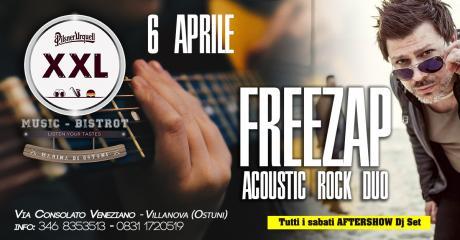 Freezap | Rock Acoustic Duo at XXL Music Bistrot