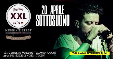 Sottosuono at XXL Music Bistrot (Villanova)