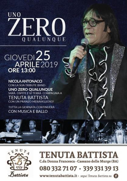 """""""Uno Zero Qualunque"""", tribute band RENATO ZERO"""