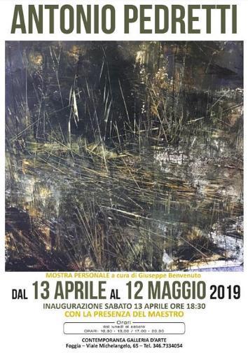 Mostra personale del maestro Antonio Pedretti