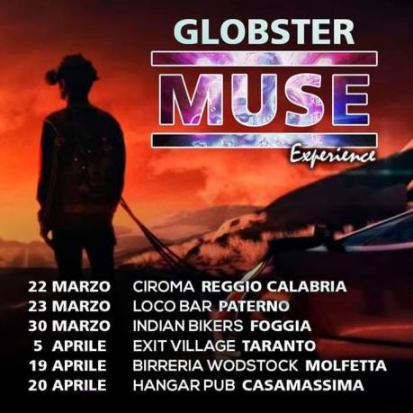 Concerto I Globster Muse Tribute band / Dj Set / Hangar Casamassima