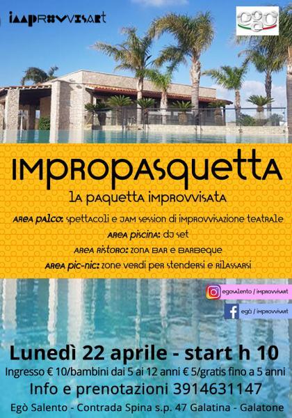 ImproPasquetta - la Pasquetta improvvisata