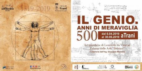 """""""IL GENIO. 500 ANNI DI MERAVIGLIA"""", in mostra  in prima assoluta 40 macchine leonardesche"""